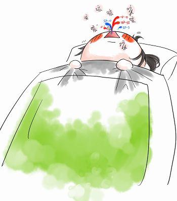 标题:【咳咳咳= =】生病好难受呀图片